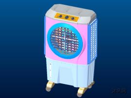 工业空调扇的结构模型