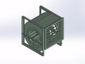 6种YDW4-5M系列低嘲音离心风机