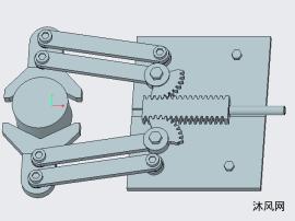 齿轮齿条机械手设计