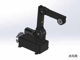 四轴机械臂模型