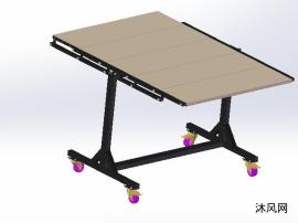 多功能折叠桌模型