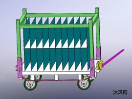 物料转运车设计模型