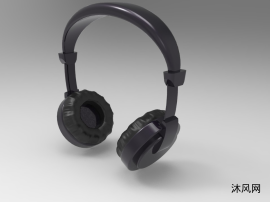 头戴式耳机图纸