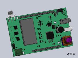 电机调试板设计模型