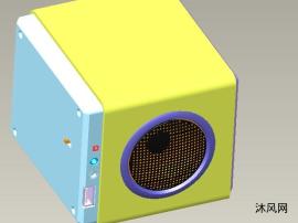 蓝牙音箱三维设计