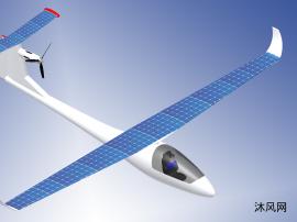 电动太阳能滑翔机设计模型
