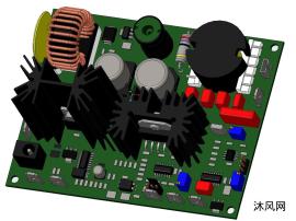 电机控制驱动板设计模型