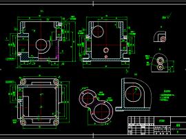 减速箱体零件的工艺规程及其钻、攻工件左端面6-M4深8孔深10螺纹的工装夹具设计