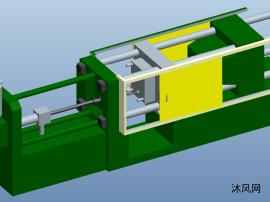 280T压铸机模型