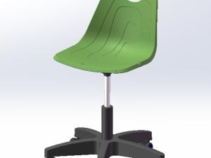 简易靠背椅