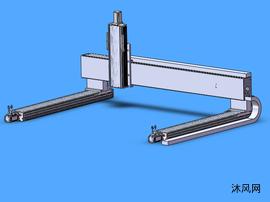 龙门铣xyz模组模型