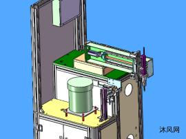 螺丝机模型x_t格式