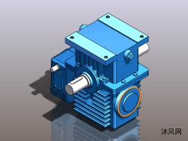 5种不合中央距系列的蜗杆加速器