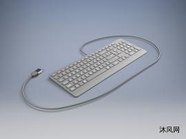 电脑键盘设计图