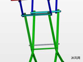 可折叠桌子三维模型