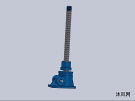 7种QWL25蜗轮螺杆升降机模子