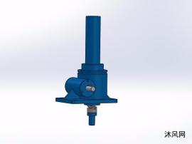 9种QWL5蜗轮螺杆升降机模子