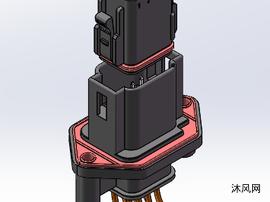 8芯塑胶连接器
