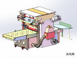 覆膜机模型图