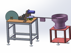 磁带冲压与棋子组装机