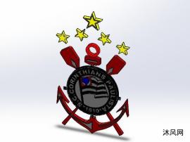 巴西足球甲级联赛科林蒂安队标