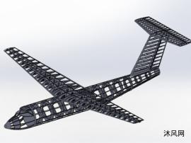 飞机外骨架模型