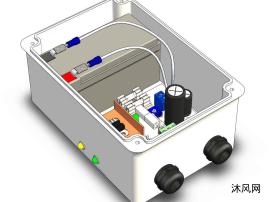 电源箱设计模型三维