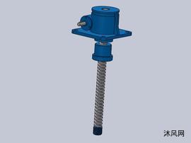 7种SWL50蜗轮螺杆升降机模型