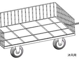 无动力平板拖车
