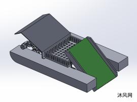 清淤清扫水面机器人设计模型