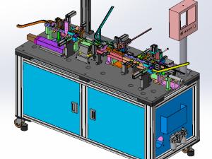 自动化光纤头组装机
