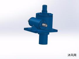 7种QWL1015蜗轮螺杆升降机(慢速)模子