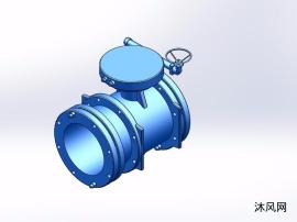 5款KYTE型雙向金屬硬密封蝶閥設計