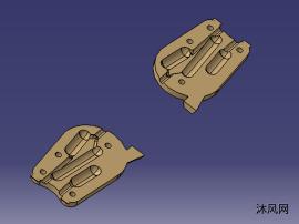 高压铝注塑模具
