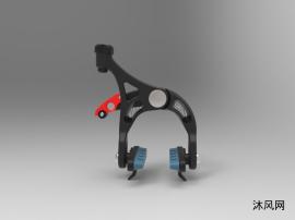 自行车刹车抱闸设计模子