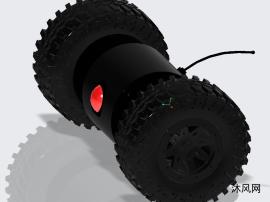 平衡式结构的无人机设计模型