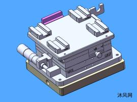 微型工作滑台模型