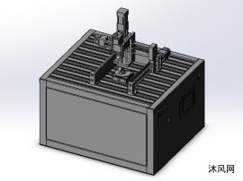 五軸雕刻機設計模型