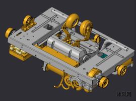 按摩椅机芯模型