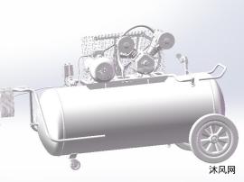 氣泵三維模型