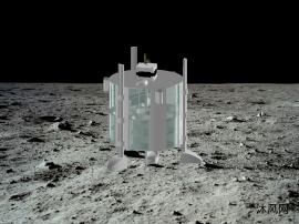 月球登陆机器人设计模型