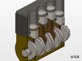 气缸体模型