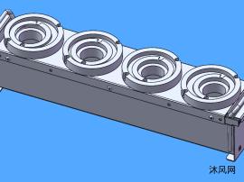 刀具座機構模型