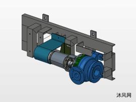 离心泵模型三维