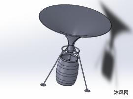 可调和移动式集水器设计模型