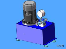 小型油箱模型圖