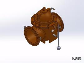 11种MPa定水位阀模型