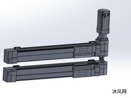 雙X軸龍門機構