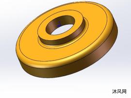 封盖落料冲孔拉深翻边复合模具设计【精品设计】说明书+CAD+SW三维图