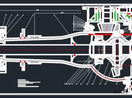 渣土车双级贯通式中后驱动桥设计